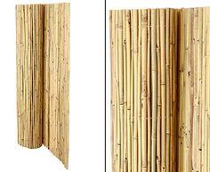Bambus Trennwand   Natürlicher Sichtschutz Für Garten Und Balkon