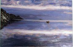 7004. EVOCACIÓN. Óleo sobre lienzo. 54x81 cm. 2005