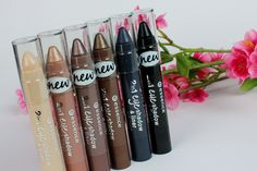 essence 2 in 1, the second and fourth are the best, maybe no1 as base+metals are the best eyeshadow