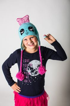 Shopkins Crochet PATTERN: Toasty Pop Hat by LunameraCrochet