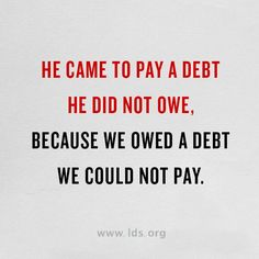For the wages of sin is death but the gift of God is eternal life through Jesus Christ our Lord. Saving grace