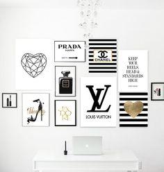 Fashion bundle. Perfume, logo dripping, lipsticks, keep your heels, gossip girl, louboutin, marfa, sunglasses, golden heart diamond, makeup by Byoliart on Etsy https://www.etsy.com/listing/281270286/fashion-bundle-perfume-logo-dripping