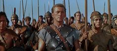 SPARTACUS (1960) - Director of Photography: Russell Metty - Director: Stanley Kubrick