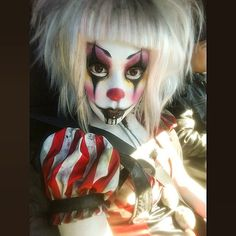 Adorable sinister clown