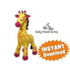 Giraffe a.k.a Raff INSTANT DOWNLOAD Sewing Pattern PDF