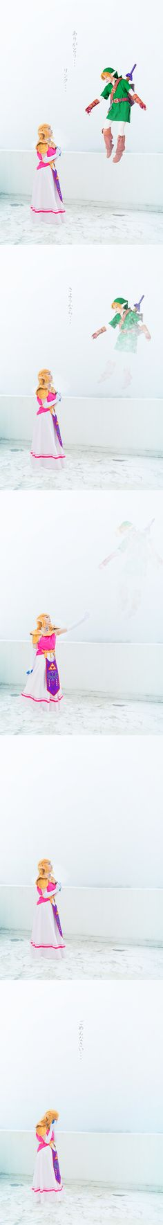 Ocarina of Time ending, by @yzk919 | #Zelda #OoT