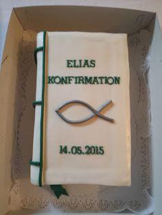 Sabine`s Torten: Elias - Konfirmationstorte