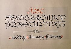 Pen and Graver / Hermann Zapf - the pinnacle of calligraphic beauty!