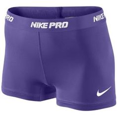"Nike Pro 2.5"" Compression Short - Women's - Training - Clothing - Club Purple/Magenta"
