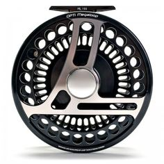 """Loop OPTi MegaLoop Fly Reel. Best for heavy saltwater fishing and heavier river fishing for anadromous species. With perfect capacity, high retrieve rate and no-slip """"winch"""" drag, this is probably the best Tarpon reel on the market. The reel's weight also balances perfectly to longer double-hand rods. TL, AOS Fly Fishing Team"""