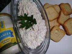Patê de Delicias do Mar e Salsa com Maionese de Limão