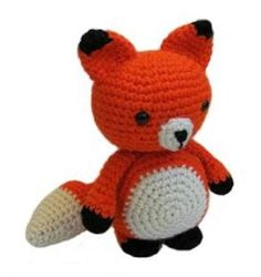 Adorable Mister Fox ~ pattern by Amigurumi To Go Chat Crochet, Crochet Dolls, Crochet Baby, Free Crochet, Crochet Fox Pattern Free, Yarn Projects, Crochet Projects, Crochet Tutorials, Video Tutorials