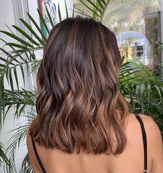 Brown Hair Balayage, Hair Color Balayage, Hair Highlights, Brown Hair Inspo, Medium Hair Styles, Curly Hair Styles, Aesthetic Hair, Light Brown Hair, Hair Color For Black Hair