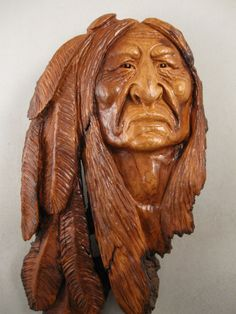 North West Indian Wood Carvings | Wood Spirit Carving & Native American Indian Carving
