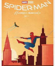 Fan made Spider-man Homecoming poster from @amazing_webheads