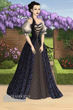 New Character by CandidaV ~ Folk and Historical Dress Up