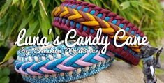Luna's Candy Cane | Swiss Paracord