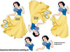 Printable 3D Snow White