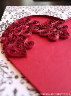 Quilled Paper Heart 8