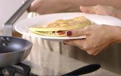 Rita Lobo ensina a fazer pão piadina - Receitas - GNT