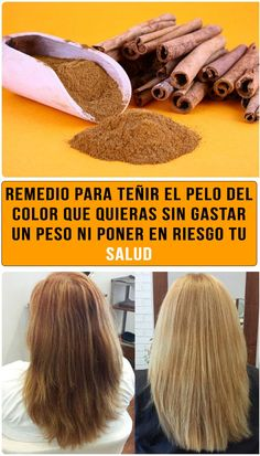 Use Cinnamon To Lighten Hair And Add Highlights Naturally - NZ Holistic Health Lighten Hair Naturally, Soften Hair, How To Lighten Hair, How To Make Hair, Lighten Hair With Honey, Healthy Beauty, Healthy Tips, Health And Beauty, Stay Healthy