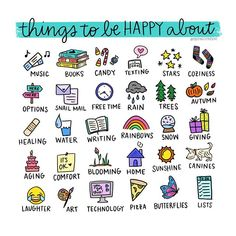 Just a few things that make me happy. What would you add to the list? Tell me in emojis!
