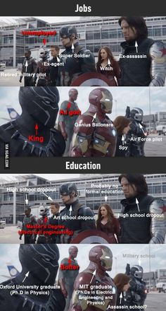 The Avengers 677862181395225381 - Team Cap Vs Team Iron Man. Interesting, but in all seriousness, not the point of the film Source by kristinaheeg Avengers Humor, Funny Marvel Memes, Dc Memes, Marvel Jokes, Funny Memes, Funny Videos, Hilarious Pictures, Funniest Memes, Funny Comics