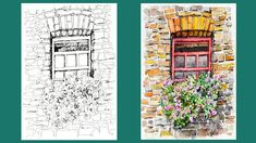 NAMIL ART: [Pen & Watercolor]