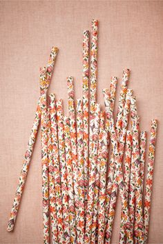 Blooming Shoppe Straws from BHLDN
