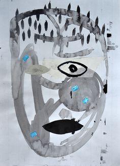 #metanimal #TheodorGrigoras #2016 #drawingonpaper
