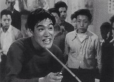 Teenage Bruce Lee in the film 'The Orphan'