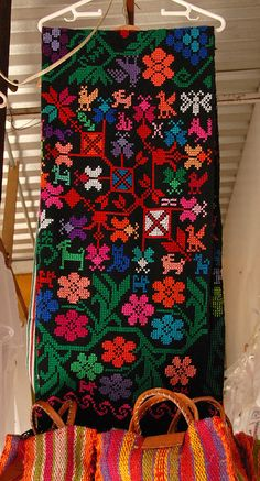 Mexican Embroidery by Teyacapan, via Flickr