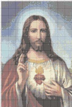 Gambar Pola Kristik Yesus Kristus