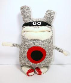 ninja the sock monkey
