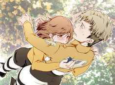 Auruo Bossard / Oluo Bozado x Petra Ral | Petruo | Love & Hate | Attack on Titan/Shingeki no Kyojin / aot/snk | Anime manga couple | dead OTP