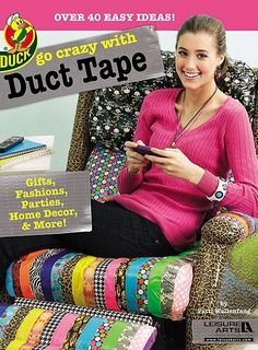 My dad was WAY ahead of his time!!!  Duct tape Lazy Boy chair.