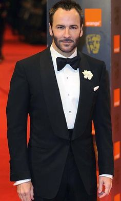 begin with Mr Tom Ford and his shawl collar
