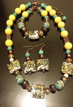 Get a FREE mystery gift with ANY purchase! Offer ends 3/13/16 https://www.etsy.com/listing/211178036/sudden-swirls-necklace-set