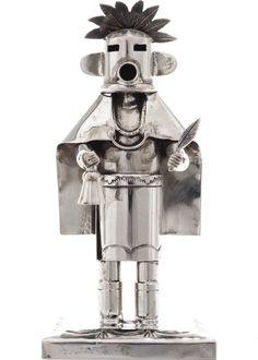 Silver Morning Singer Kachina Doll 21590