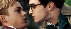 1k * Daniel Radcliffe Dane DeHaan kill your darlings *film i am ruined film: kill your darlings i know this scene has been giffed a billion and one times but i'm gonna make it a billion and two