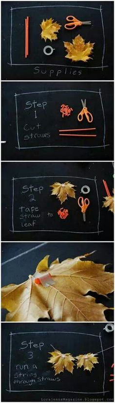 Fun fall project for kids