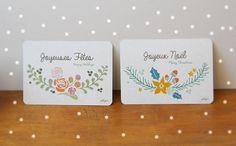 Poligöm // Cartes de Noël - FREE PRINTABLE - Christmas Cards