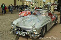 Mercedes-Benz 300SL Gullwing, classic car