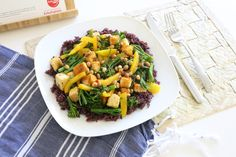 Chef's Plate Review - Purple Rice Stir-Fry https://www.ayearofboxes.com/reviews/chefs-plate-review-purple-rice-stir-fry/