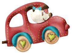 CH.B *✿*Coleccion Car Ride....clipart