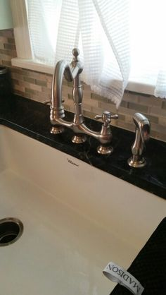 Whitehaus brand farmhouse sink