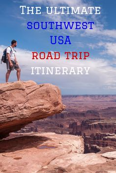 Itinerary for the ultimate -bucket list material-southwest USA road trip! This detailed one-month example plan for independent travelers passes wild landscapes and vibrant cities. It includes San Francisco, Big Sur, Yosemite, Great Basin, Zion, Bryce, Moab, Monument Valley, Grand Canyon, Red Canyon and Las Vegas. So, who's in for a road trip?