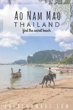 Ao Nam Mao Krabi, Thailand, Ao Nang, Travel, Things to do, Beach.