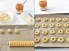 Ciasteczka morelowe - przepis Cereal, Breakfast, Food, Crispy Cookies, Almonds, Oven, Biscuits, Simple, Rezepte
