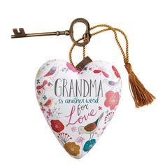 1003480075 Grandma Art Heart #enesco #grandma #gift